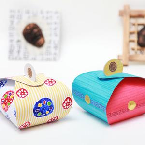 보자기 송편 포장상자(1개)
