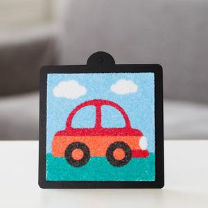 자동차 스티커 샌드아트