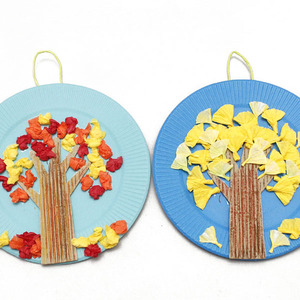 가을 나무 만들기(단풍,은행나무)1세트(2종)