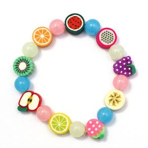 과일 야광비즈 팔찌