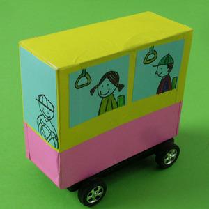 종이상자 자동차